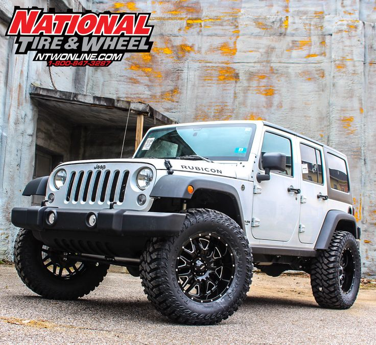 NTW Install: This 2016 Jeep Rubicon JK received a 4in Rough Country suspension system, 20X9 Ultra Hunter Wheels, and a set of 37X13.50R20 Maxxis Buckshot II tires.
