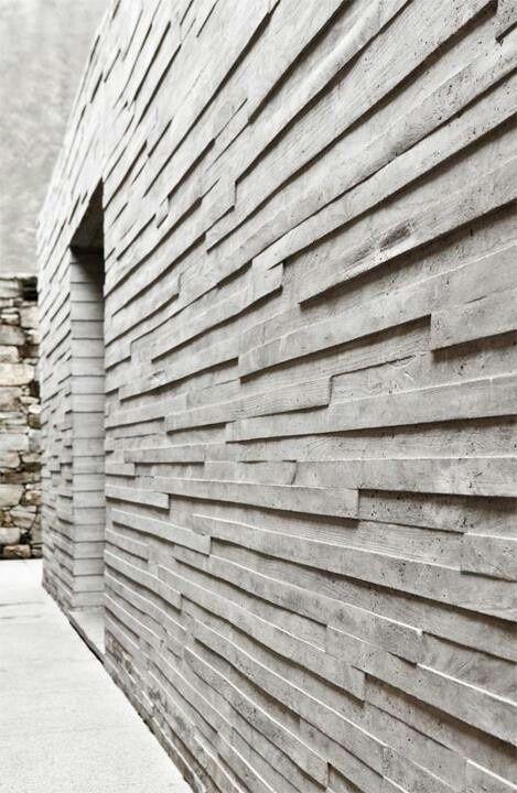 wonderful modern concrete wall