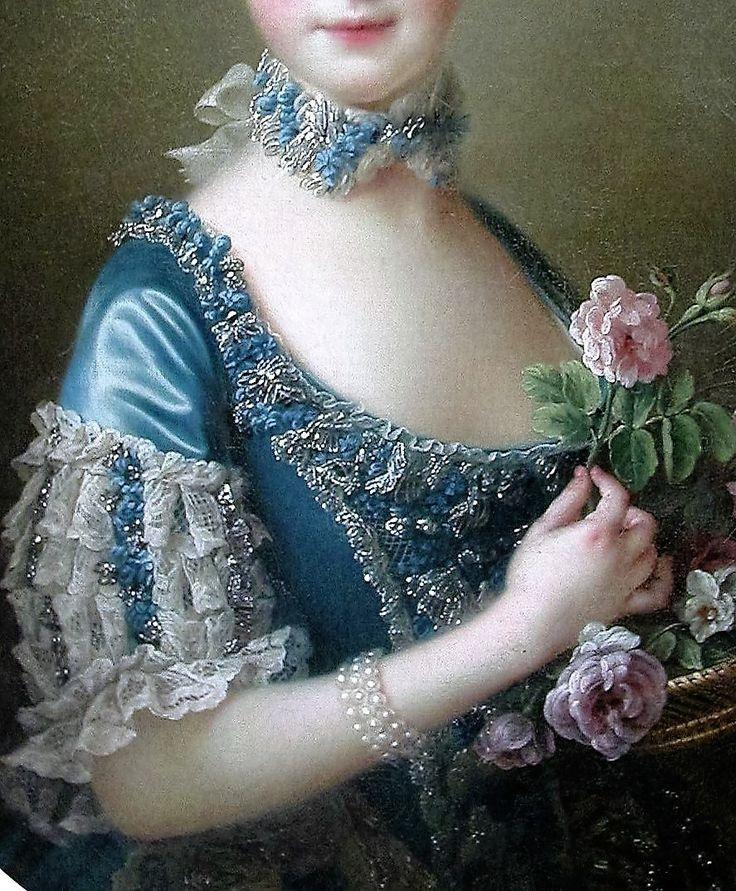 Lady Amelia Darcy by Francois Hubert Drouais