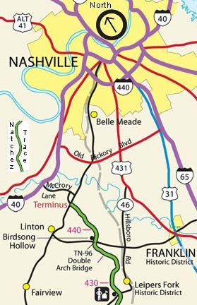 Nashville | Franklin, Tennessee, Natchez Trace Parkway