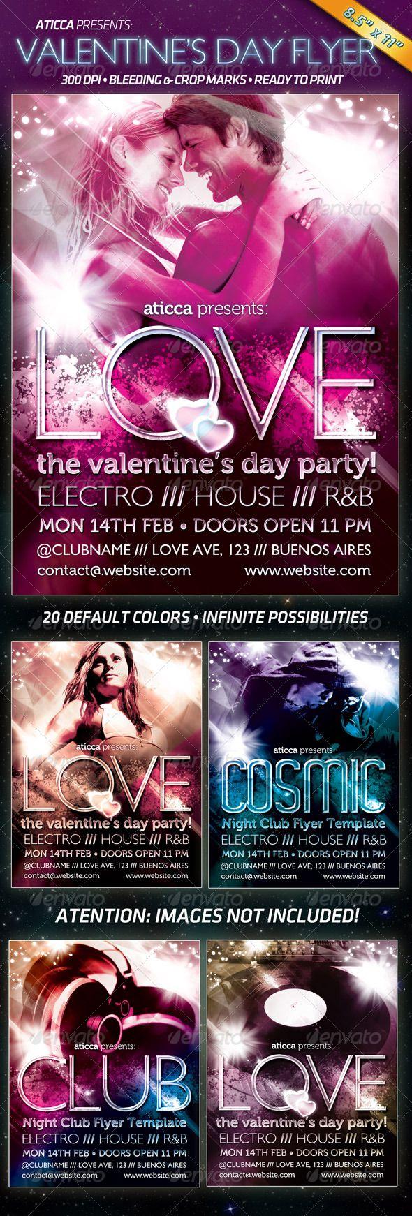 716 besten Valentines Flyer Bilder auf Pinterest | Druckvorlagen ...