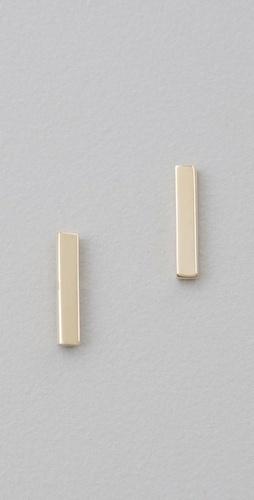 Jen Meyer Jewelry Bar Stud Earrings. I WANT these!