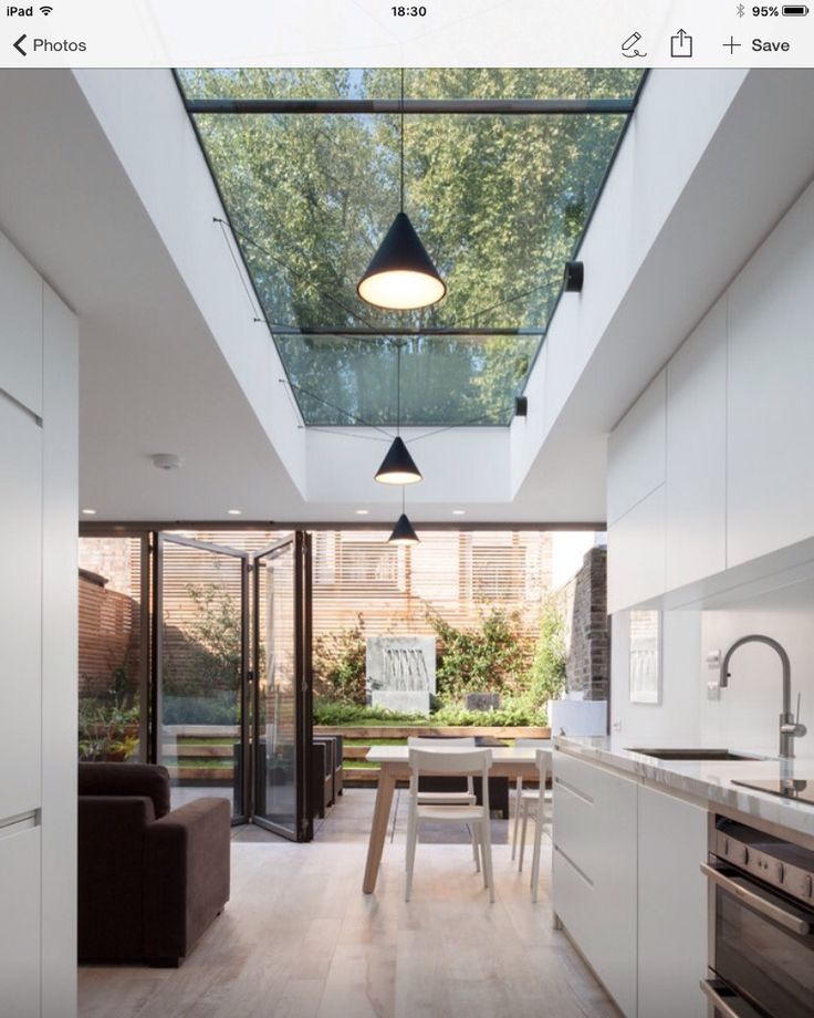 Kitchen Extension Glass Roof, What Is An Atrium And