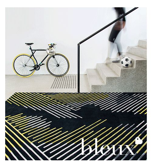Bleux's Minotu Rug from their 2014 'neighbourhood' Designer Rugs Collection.