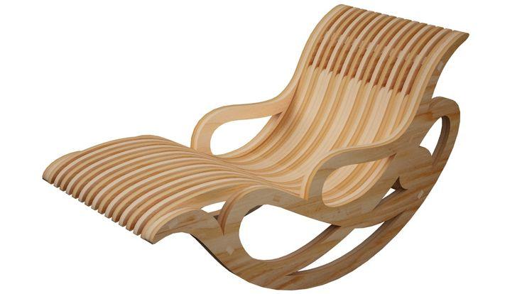 Lawn Rocker - Rocking Chair - Furniture | MakeCNC.com