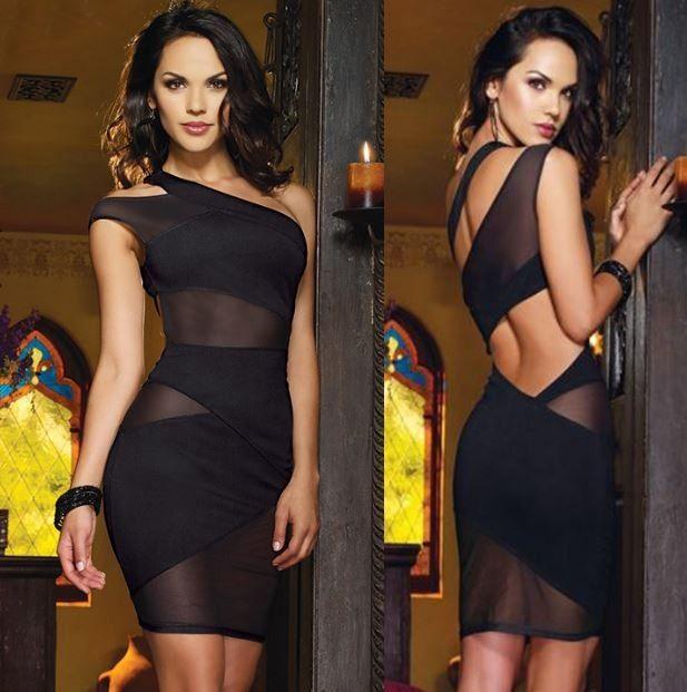 Dámské večerní šaty s průsvitnými pruhy černé – SLEVA 70 % + POŠTOVNÉ ZDARMA Na tento produkt se vztahuje nejen zajímavá sleva, ale také poštovné zdarma! Využij této výhodné nabídky a ušetři na poštovném, stejně …