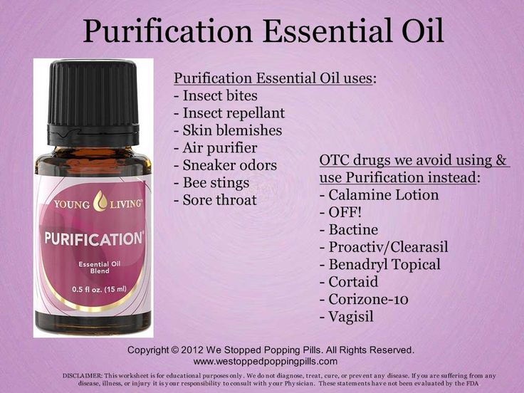 Purification Essential Oil  www.westoppedpoppingpills.com