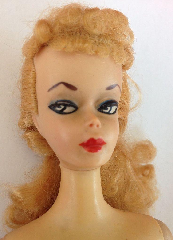 1959 2 Two Original Barbie Doll Blond Ponytail | eBay