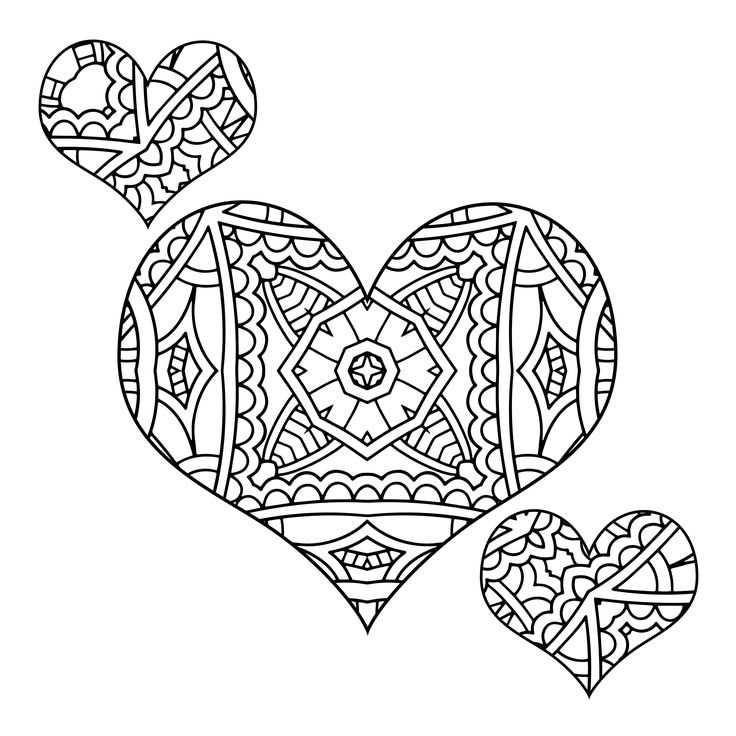 887 best hearts �� images on pinterest coloring books