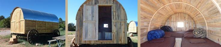 Western Wagon sleeps 4. $60/night