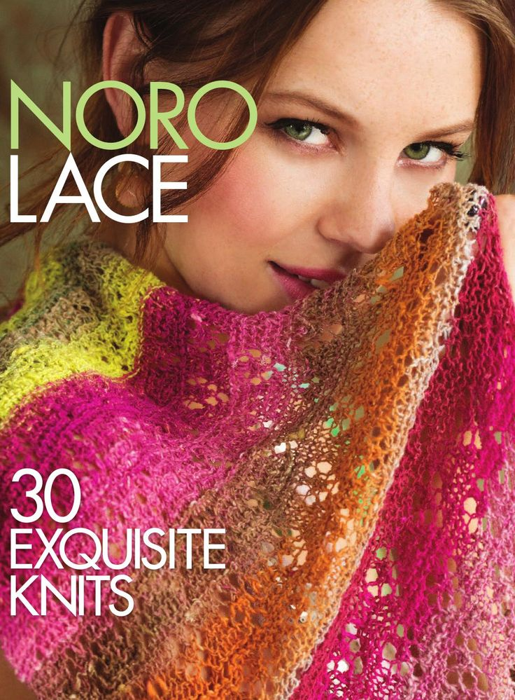 Noro Lace: 30 Exquisite Knits  For more than 40 years, Eisaku Noro has created yarns that are known for their lush textures and vibrant color combinations. This gorgeous volume brings together the beauty and versatility of lace knitting with Noro's legendary rich colors and luxurious fibers. That combination has inspired some of knitwear's most talented designers to create 30 one-of-a-kind projects, including garments, accessories, and more. This collection will delight the senses of every…