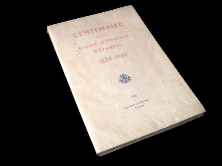 """Centenaire de la Caisse d"""" Epargne d' Etampes (Essonne ) 1838-1938"""