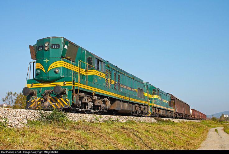 RailPictures.Net Photo: ZRS 661-314 and ZS 4 ZS - Zeleznice Srbije ZRS/ZS 661 at Kraljevo, Serbia and Montenegro by MlajdaSRB