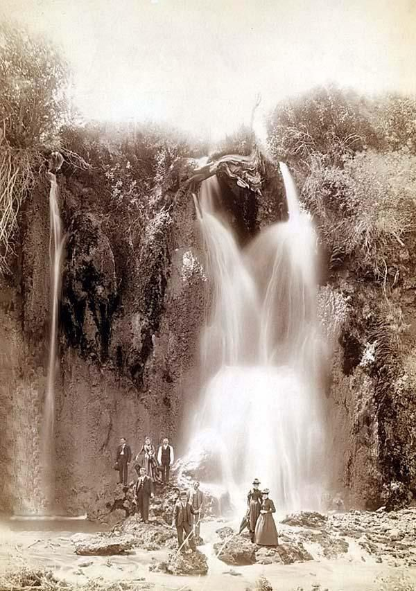 Spearfish Falls, South Dakota, June 22, 1890