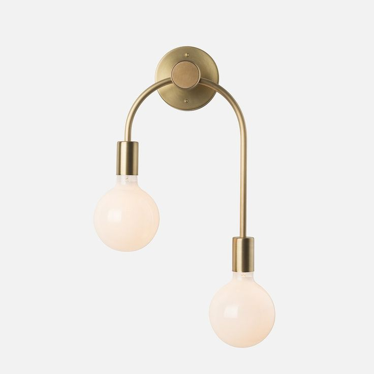 Simone double sconce