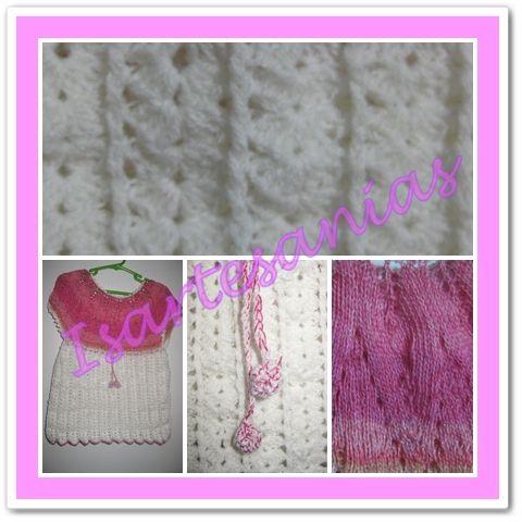 Vestido a Crochet y palillo para Rayen