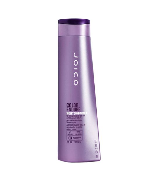 """Joico Color Endure Violet Shampoo. Every blonde needs to keep this shampoo on hand for occasional """"brassiness""""."""
