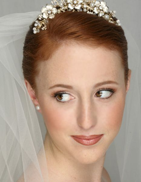 Redhead Bridal Makeup by Hair Comes the Bride