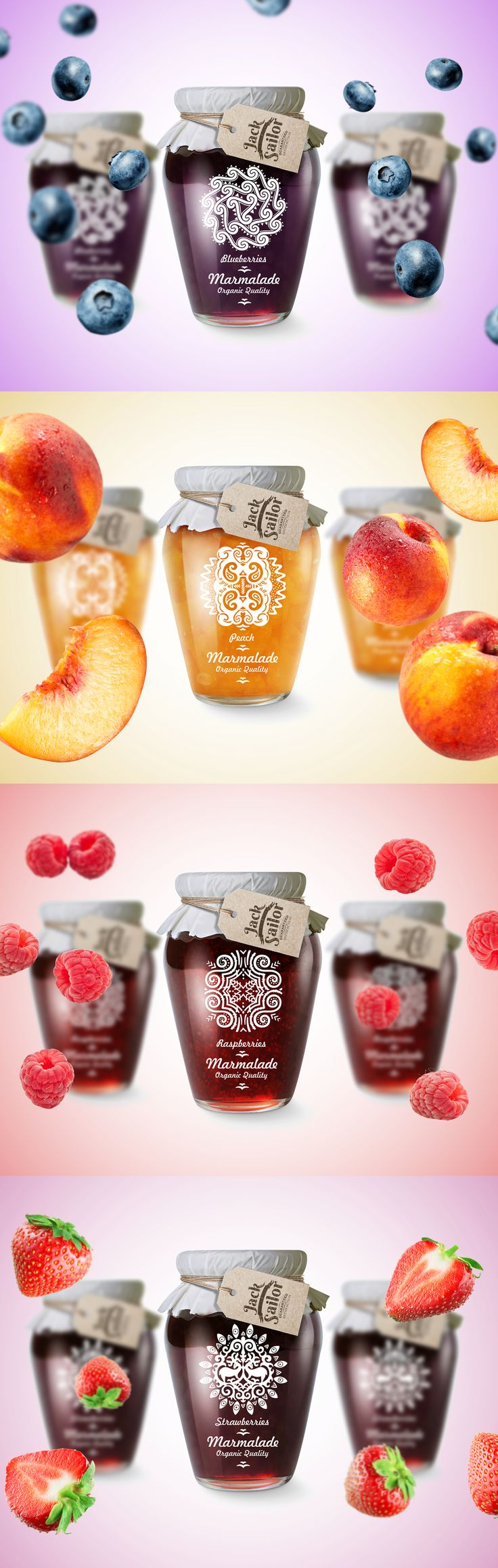 Jack Sailor Marmelade Packaging Design