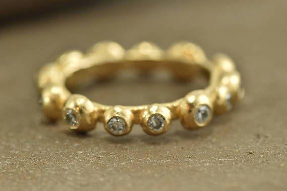 Zircon ring, Romantic Rings, Ring of Balls, #jewelry #ring @EtsyMktgTool #zirconring #romanticrings #ringofballs #fashionring
