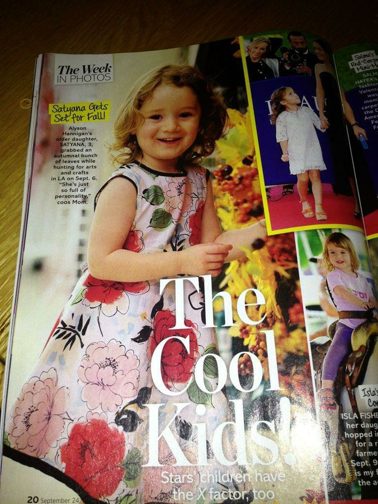 We LOVED seeing our dress in Life & Style - thank you Allison - you rock!