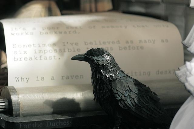 Raven vs. Writing Desk.