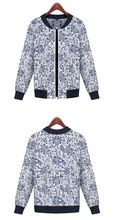 Women Fashion Casual Flower Printing Plus Size Jacket Coat Best Buy follow this link http://shopingayo.space