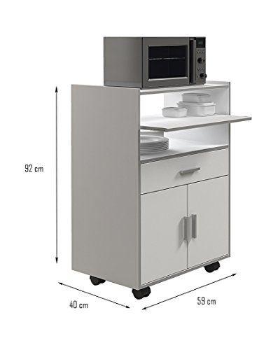 Mueble Auxiliar Cocina Diseño | mueble microondas in 2018 | Pinterest