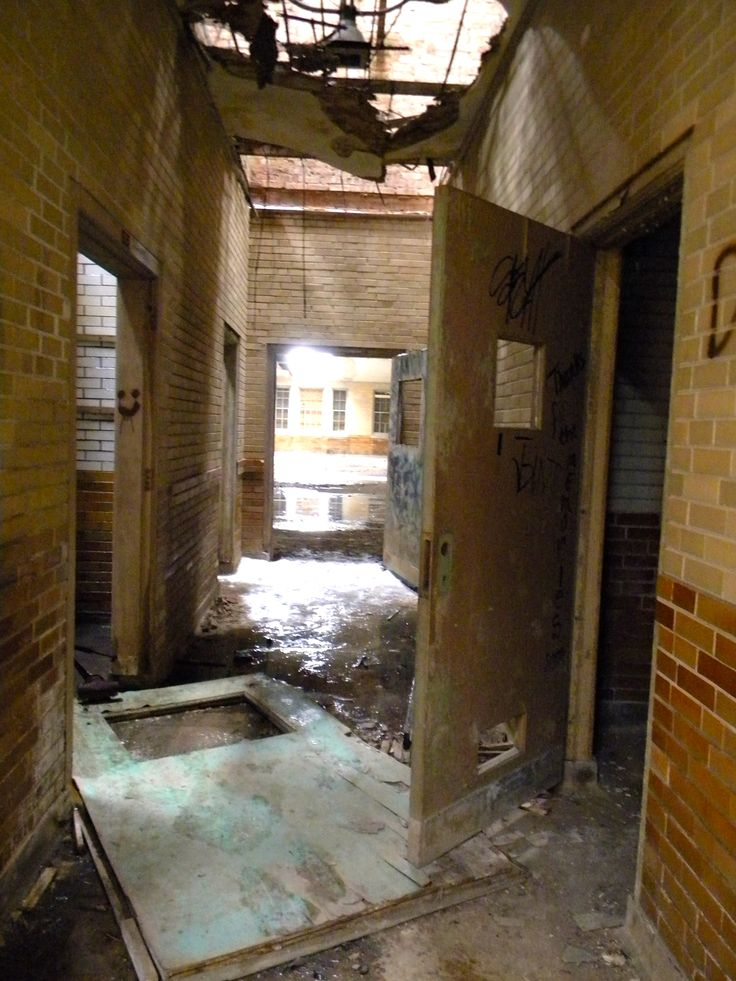 Manteno State Hosptial - #5 on Rent.com's countdown of the most haunted places…