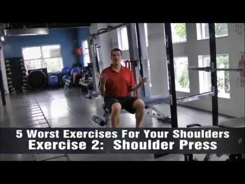 Shoulder Press and Shoulder Pain