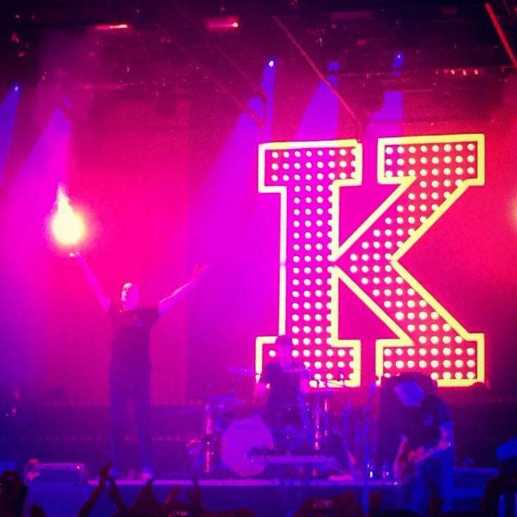 Bild vom Kraftklub-Konzert im Palladium Köln.