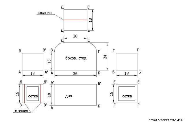 Йоркширский терьер. Меховая сумочка и переноска для собаки (1) (640x427, 47Kb)
