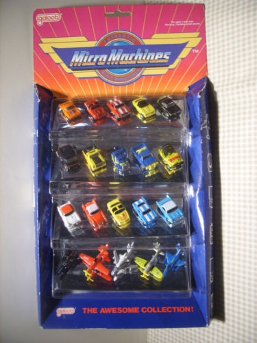 Micro machines!  I absolutely loved my micro machines :)