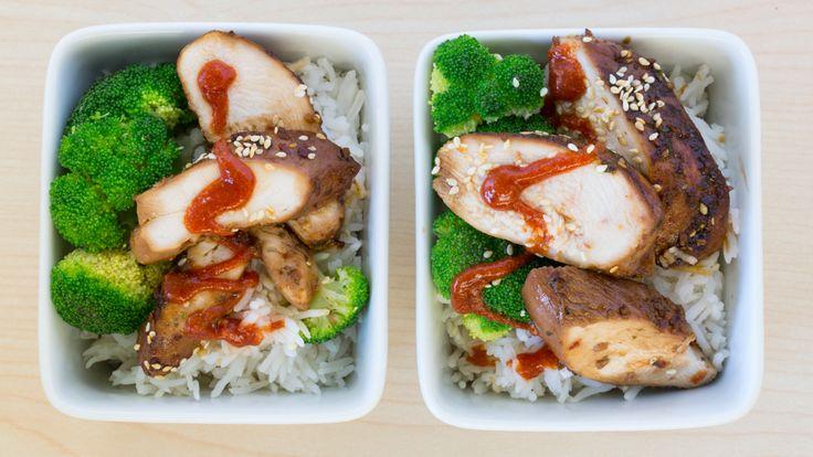 poulet teriyaki prêt en 15 minutes