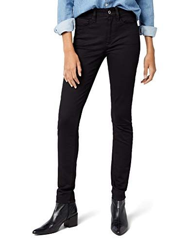 0aa97b7bc G-STAR RAW Jean Skinny Femme Noir (Rinsed 082) W26/L28 (Taille ...