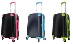 Groupon - Brio Luggage Hard-Side Spinner Carry-on Bag. Groupon deal price: $42.99