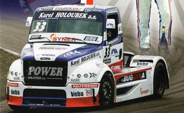 Buggyra International Racing Big Boy 2013 Truck Free Vehicle Paper Model Download