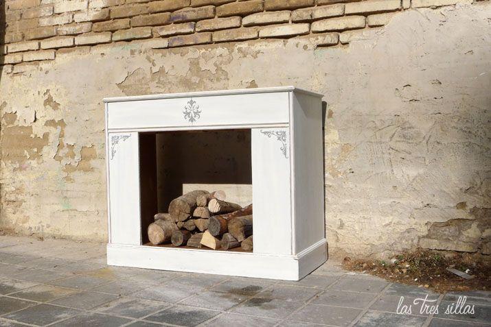 M s de 1000 ideas sobre como hacer una chimenea en - Hacer chimenea decorativa ...