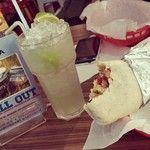Burrito's and Margaritas with @flo_cloud . #mexican #burritos #foodporn #sogood #margarita #alcoholics / 166 days ago around 10AM on Fri Oct  3 10:56:44 2014 © http://instagram.com/p/tscp5_MRde/