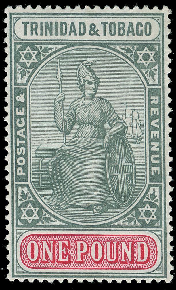 Trinidad and Tobago Stamp. More about stamps: http://sammler.com/stamps/