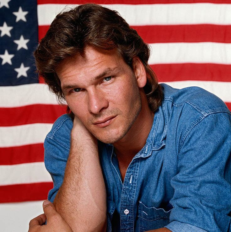 Patrick Swayze , 1992, october / Terry O'Neill