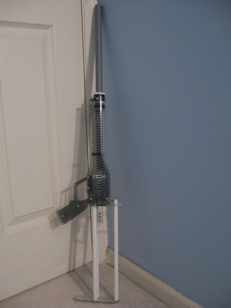 Picture of +Bow - Homemade Spring-Powered Nerf Rifle