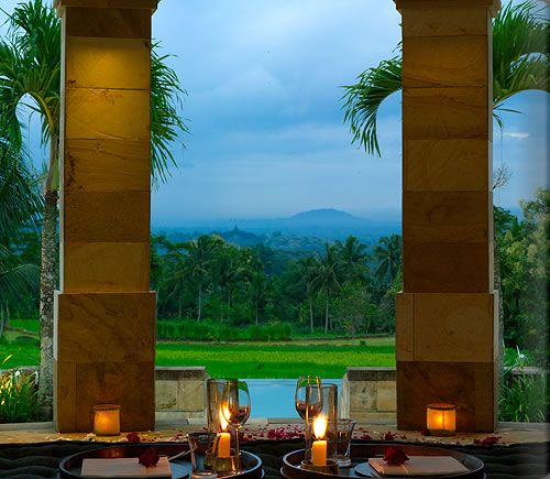 Amanjiwo Resort, Jogjakarta, Indonesia.