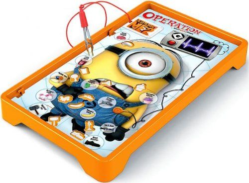 Despicable Me 2 Board Game OPERATION [Minions Figures NOT Included!] @ niftywarehouse.com #NiftyWarehouse #DespicableMe #Movie #Minions #Movies #Minion #Animated #Kids