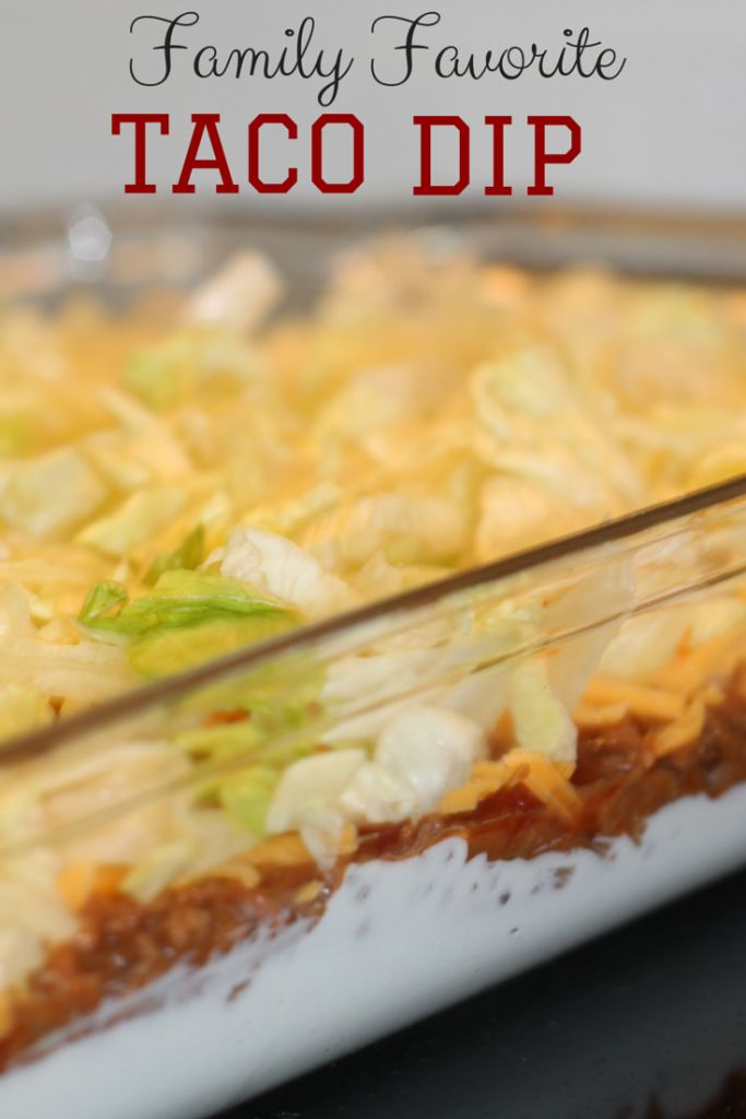 5-Layer Taco Dip Recipe