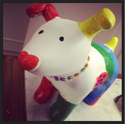 Culture Baby's decorated snowdog