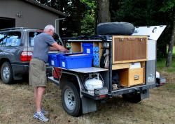 Home built Compact Camping Trailers - Compact Camping Concepts, LLC - tons of examples of homemade camping trailers.... for tent campers