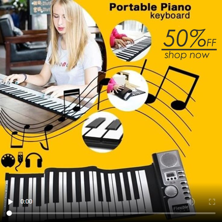 Electronic Portable Folding Piano(49KEYS)