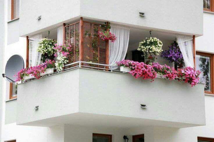 # Layout eines kleinen #Balkons # kreative Ideen, um Ihren Balkon #chic und #confortable zu machen – EBS Déco