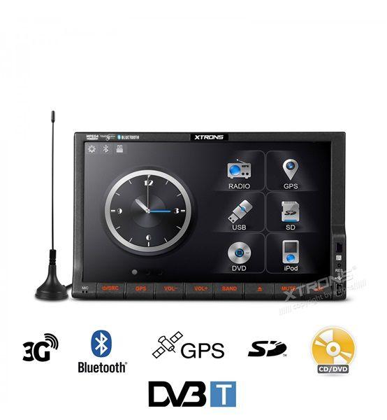 Radio Cd con TDT 2 Din Multimedia TD714SGD